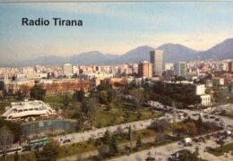 QSL Radio Tirana Албания Июль Август 2021 года