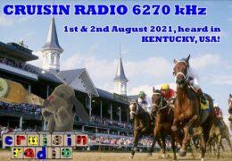 e-QSL Cruisin Radio Великобритания Август 2021 года