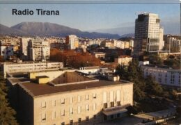 QSL Radio Tirana Албания Август 2021 года