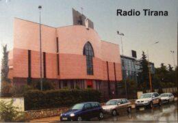 QSL Radio Tirana Албания Август Сентябрь 2021 года
