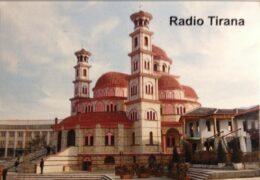 QSL Radio Tirana Албания Октябрь 2021 года
